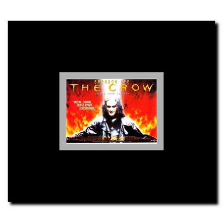 The Crow Framed Movie Poster - Black Crowes Halloween Poster