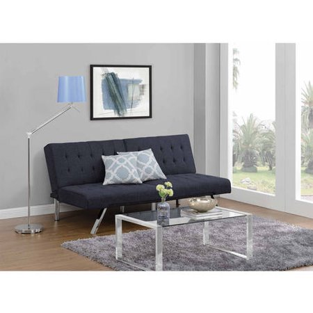 Dhp Emily Convertible Futon Sofa Couch Multiple Finishes
