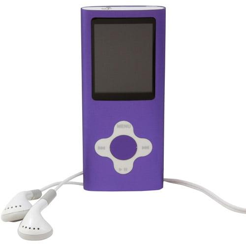 Vertigo 4GB MP3 Player, Assorted Colors