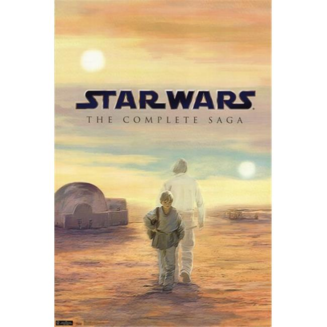 Trends International TIARP1447 Star WarsBlu Ray Box -22 x 34 Poster Print