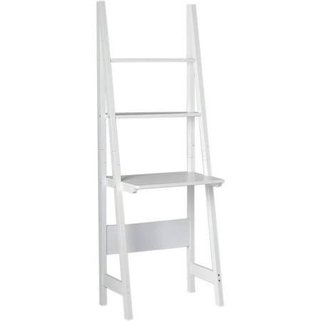 magari leaning shelf bookcase desk white. Black Bedroom Furniture Sets. Home Design Ideas