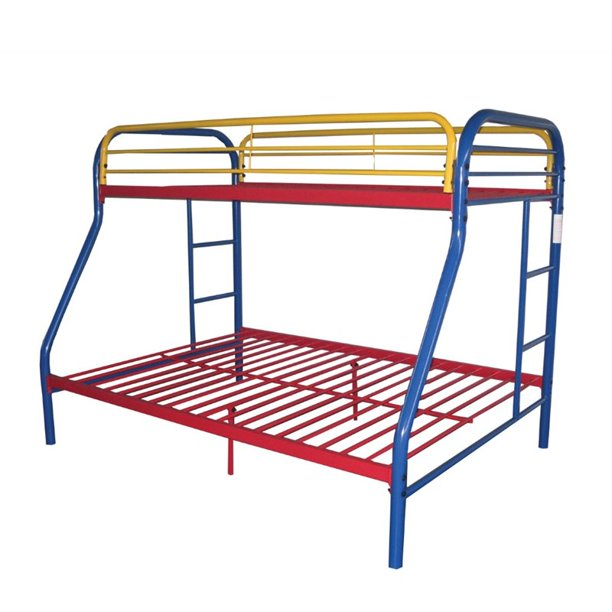 ACME Furniture Tritan Twin over Full Bunk Bed in Rainbow