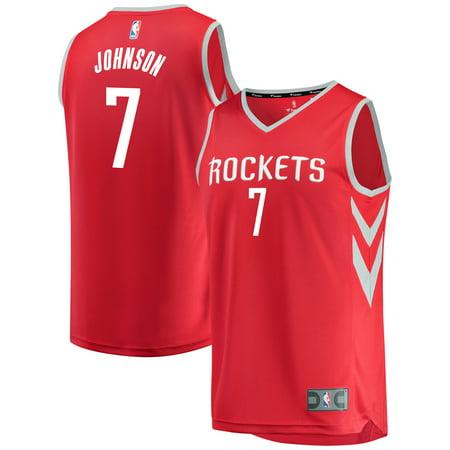 Joe Johnson Houston Rockets Fanatics Branded Youth Fast Break Player Jersey - Icon Edition - Red