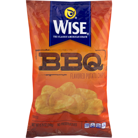Wise Potato Chips (Wise Foods BBQ Potato Chips 8.75 oz. Bag (3 Bags))