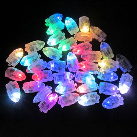 50Pcs Waterproof Multi Color LED Light For Paper Lantern Balloon Wedding Party Decoration - Led Paper