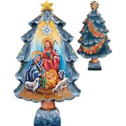 GDeBrekht 588041 Large Nativity Tree Figurine