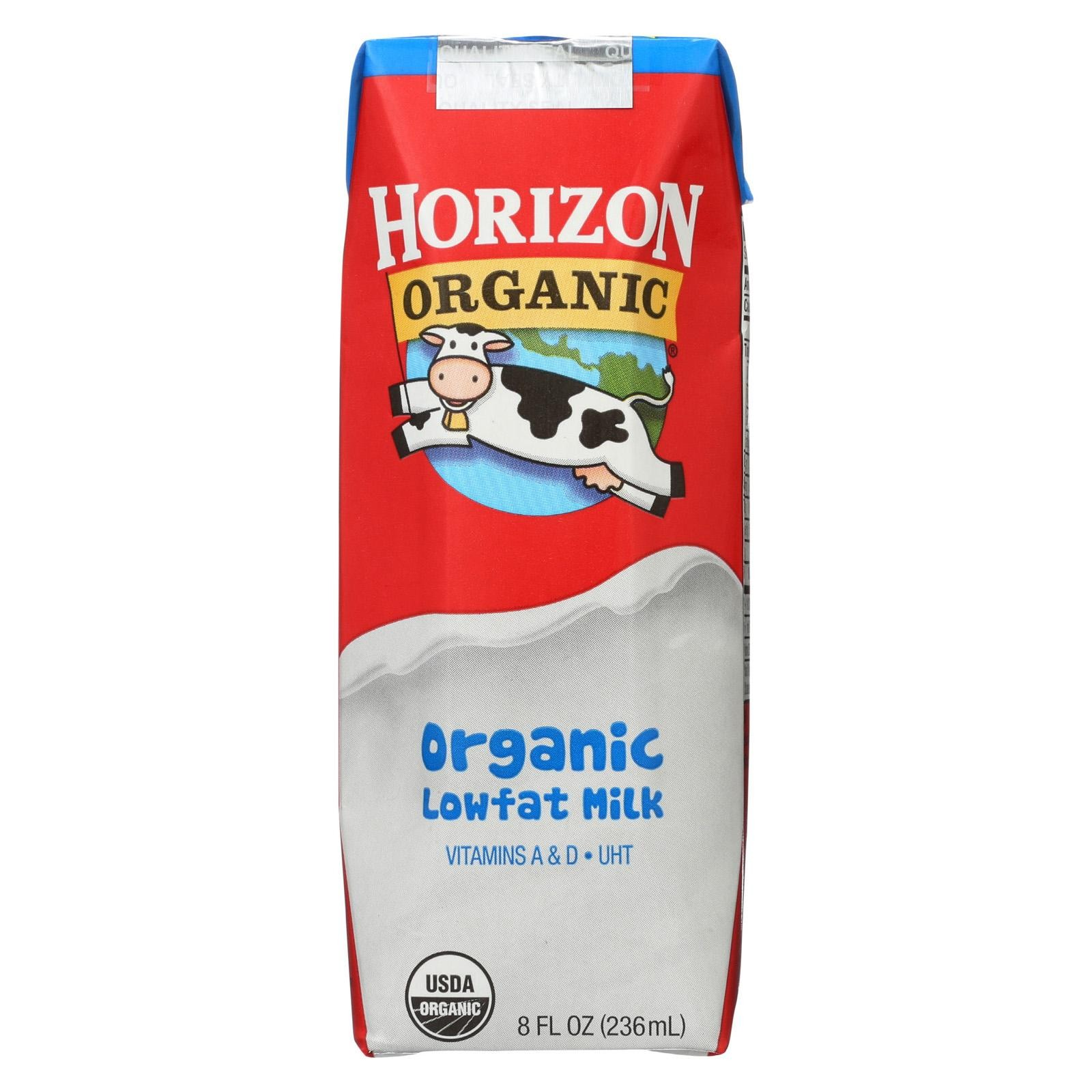 Horizon Organic Dairy Organic Low Fat 1 % Milk - Aseptic - 12/8 Fl Oz
