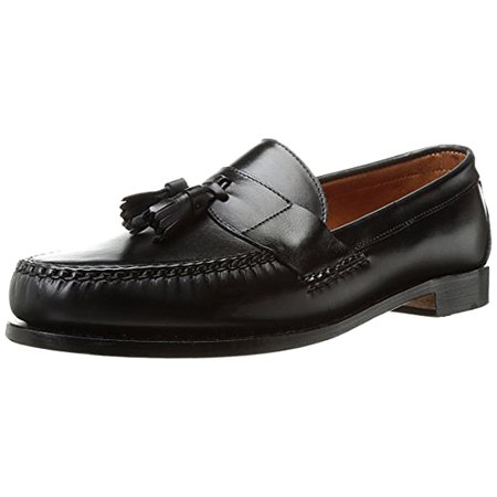 - new allen edmonds schreier black leather men's size 10 slip-on loafer