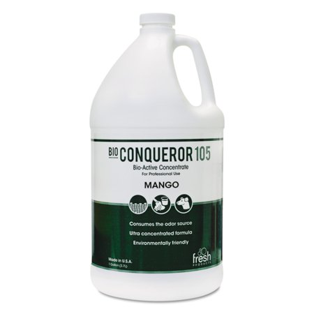Marco Counter (Fresh Products Bio Conqueror 105 Mango Enzymatic Concentrate, 1 gal, 4 count)