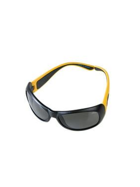 JBFYW Junior Flerxerz Polarized Sunglasses, Mustard & Black