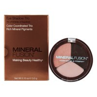 Mineral Fusion Eye Shadow Trio, Rose Gold, 0.1 Oz