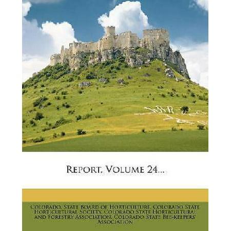 Report, Volume 24... - image 1 of 1