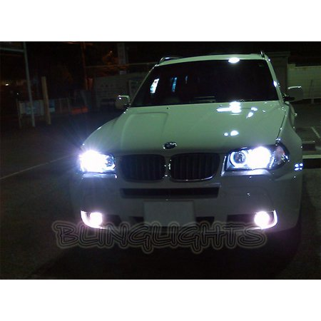 Bmw X3 E83 F25 Bright White Low Beam Light Bulbs For Headlamps