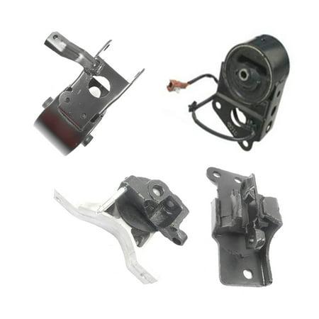 Engine Motor & Auto Trans. Mount Set 4PCS for 2004-2006 Nissan Maxima 3.5L with Sensor A7349EL, A7358, A7348, - Nissan Stanza Auto Parts