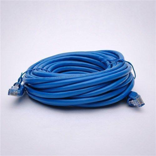 25 Pack Lot - 50ft CAT6 Ethernet Network LAN Patch Cable Cord 550MHz RJ45 Blue