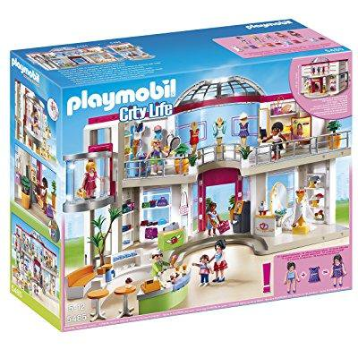 playmobil furnished shopping mall (Mall Of Georgia Location)