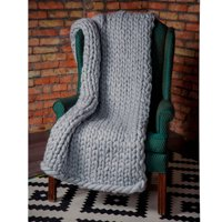 """47""""x39.4""""/47""""x59""""/39.4""""x31.5"""" Warm Hand Chunky Knit Blanket Thick Yarn Bulky Bed Spread Throw Soft & Multi Colors"""