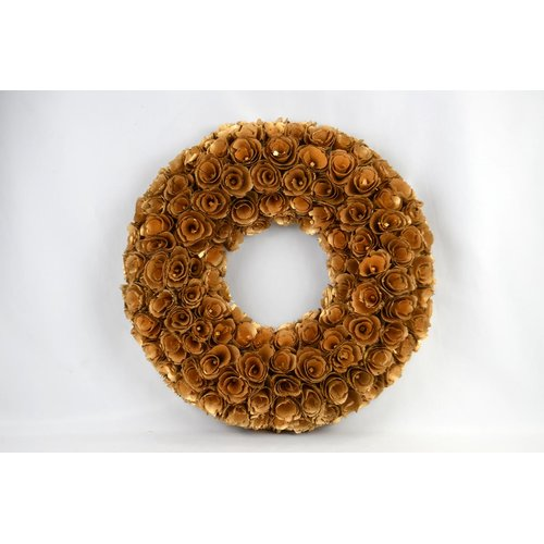 August Grove Woodchip 18'' Wreath