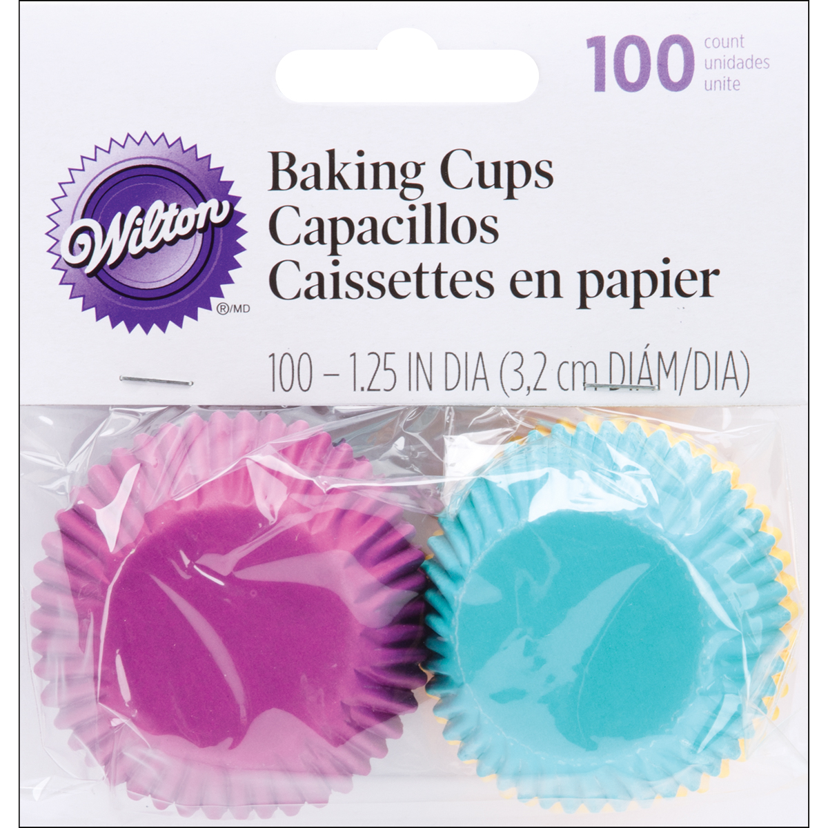 Mini Baking Cups-Jewel 100/Pkg