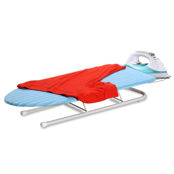 c99556371870 Honey Can Do Tabletop Ironing Board with Retractable Iron Rest - Walmart.com