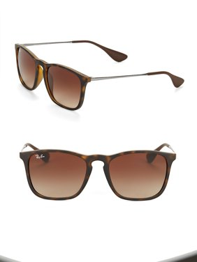 Ray Ban RB 4187 856/13 Chris - Tortoise/Brown Gradient by Ray Ban for Unisex - 54-18-145 mm Sunglasses