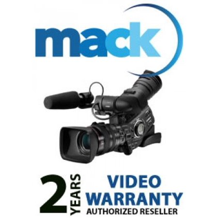 Mack 2-Year Extended Warranty Service Plan for Professional Video Equipment Priced Under $5,000