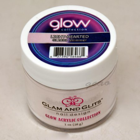 Glam and Glits GLOW ACRYLIC Glow in the Dark Nail Powder 2033