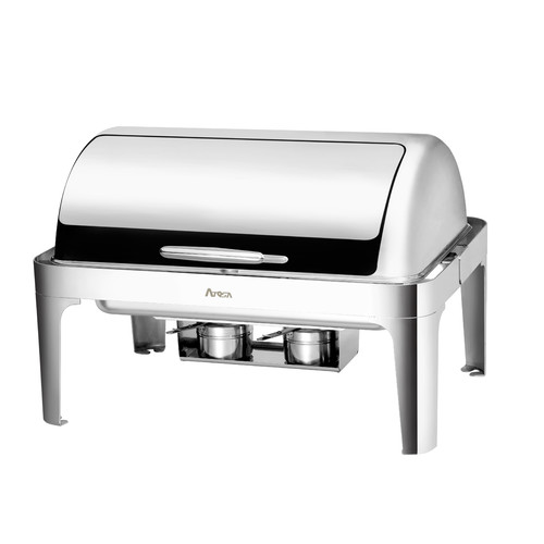 Atosa Full Size 8 Qt Roll Top Chafing Dish by