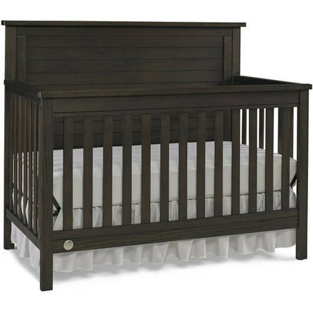 Fisher Price Quinn 4 In 1 Convertible Crib Wire Brushed