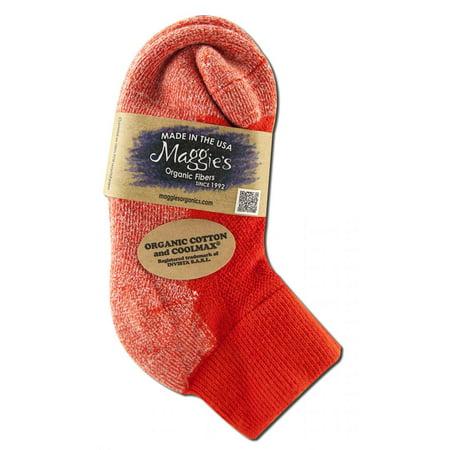 Maggies Functional Organics - Sports Socks, Orange 9-11