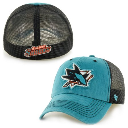 022484f1ed63b6 San Jose Sharks '47 Brand Taylor Closer Flex Hat - Teal - L/XL ...