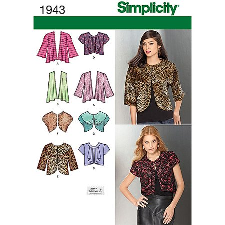 Simplicity Pattern Misses Knit And Woven Jackets Sewing Pattern 16
