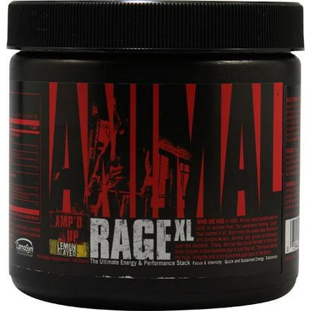 Universal Nutrition Animal Rage XL Citron Slayed 30 portions, 151 g