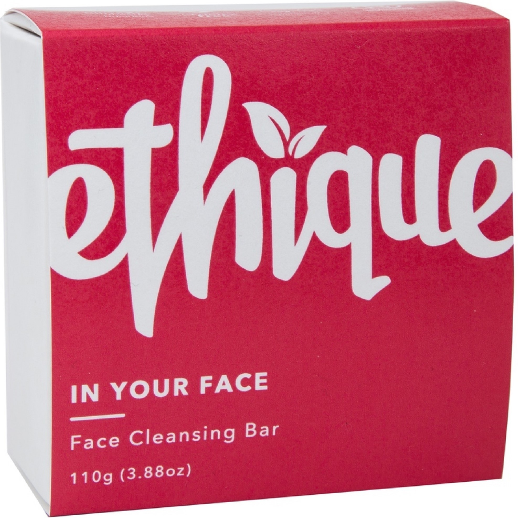 4 Pack - Ethique Eco-Friendly Face Cleansing Bar, In Your Face 3.88 oz Ultimate Anti-Age Renew Exfoliating Cream 1.7oz
