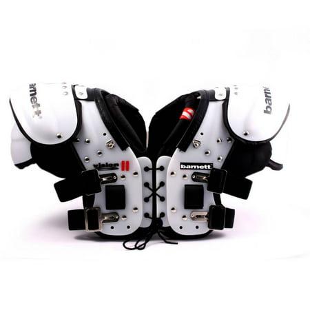Barnett VISION II Football shoulder pad, RB-DB-TE-FB-HB Position Football Shoulder Pads