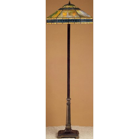 Meyda Tiffany 26567 Stained Glass / Tiffany Floor Lamp from the Cambridge Collection ()