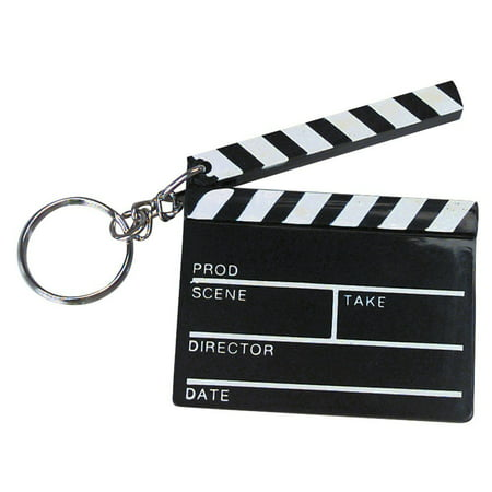 12 Hollywood Clapboard Keychain Movie Director Actor Novelty Gift Party Favors