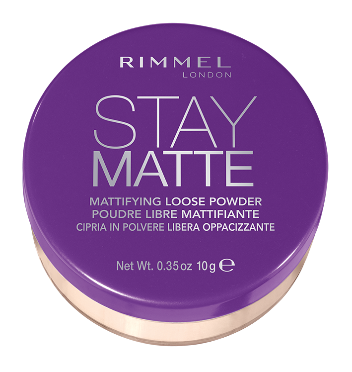 Rimmel London Stay Matte Loose Powder, Transparent 001, .45 oz