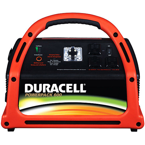 Duracell 600W Jumpstart System with Emergency Power