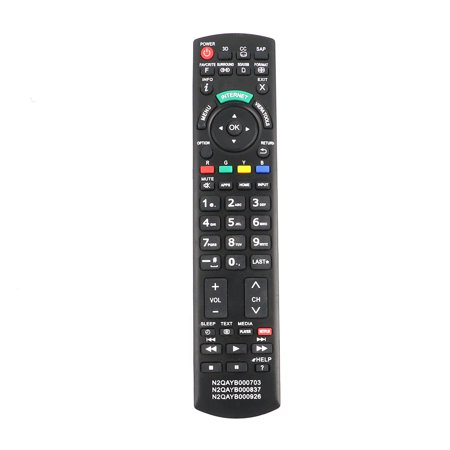 New N2QAYB000703 N2QAYB000837 N2QAYB000926 Remote Control fits For Panasonic TV TCL47WT50X TCL55DT50 TC-L55DT50 TCL55ET5 TC-L55ET5 TC-L55LE54 TCL55LE54 TCL55WT50 TC-L55WT50