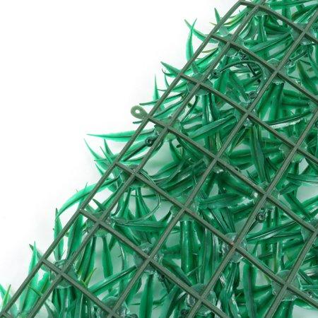 Aquarium Fish Tank Plastic Artificial Plant Lawn Decoration Green 60cm x 40cm - image 2 of 3