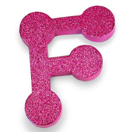 Large Glitter Foam Letter F by Horizon Group - Big Foam Letters