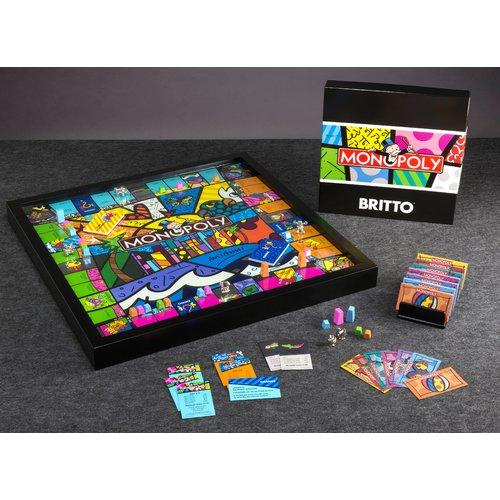 WS Game Company Monopoly Miami Edition by Romero Britto by