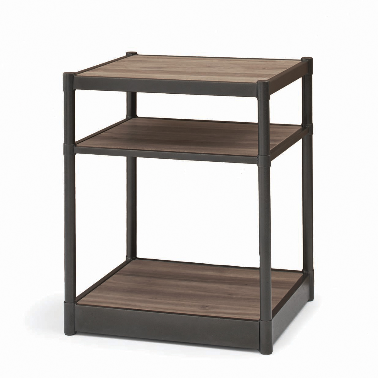 Better Homes and Gardens Bailey Inn Side Table, Washed Oak Finish