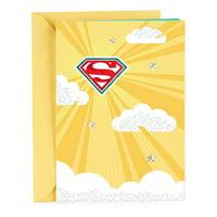 Hallmark Thank You Greeting Card (Superman)