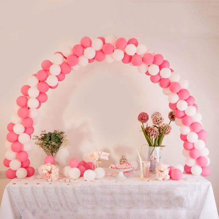 Efavormart 12ft Adjustable Balloon Arch Stand Kit DIY Birthday Decoration for Wedding Party Decor Birthday Celebration