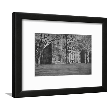 Steel Chemistry Building, Dartmouth College, Hanover, New Hampshire, 1926 Framed Print Wall Art