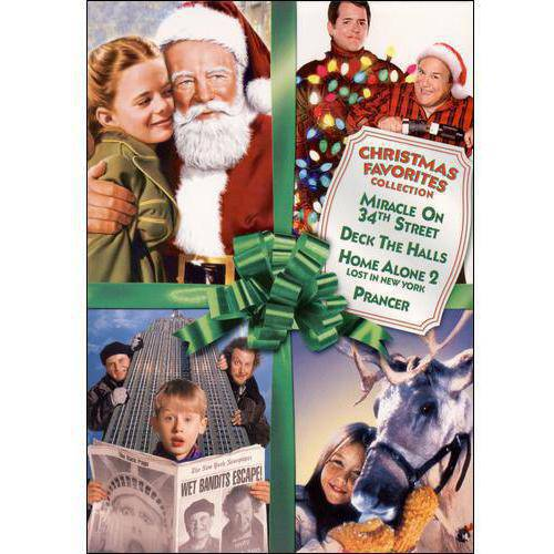 Christmas Favorites Collection: Miracle On 34th Street / Deck The Halls / Home Alone 2: Lost In New York / Prancer  (Widescreen)