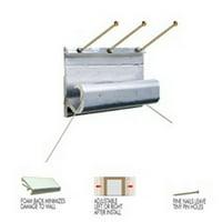 Hangman Product ASH3 Apartment Safety Hanger - 1Ct