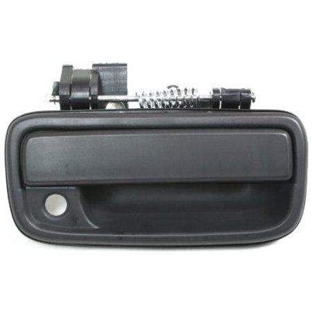 Front Right Side Smooth Black Door Handle for 95-04 Toyota Tacoma